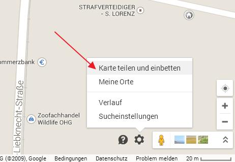 google-maps-karte-einbetten